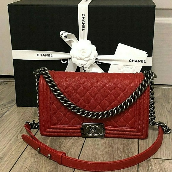 CHANEL Handbags - Chanel Boy Bag